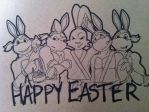 Happy Easter! by bomb-shell