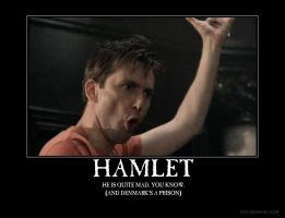 Hamlet demotivational by loracarol