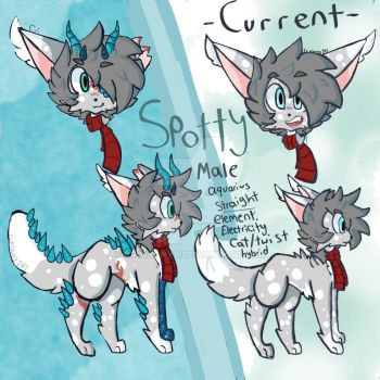 Spotty Ref Sheet by Crimsonyx