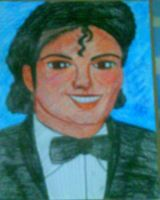 Michael Jackson in a tux by artluvr4life