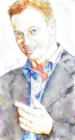 gary sinise drawing by strawberrycooky