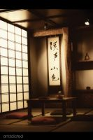 japanese dining room by artddicted