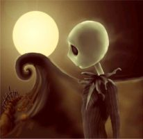 The Nightmare Before Christmas by indigodesurtigues