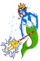 Burger King Mermaid by fanchielover15