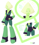 MMD Download: Peridot Updated aGAIN I'M SORRY by Finnyeh
