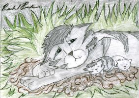 Graystripe's Pride by Bananerable