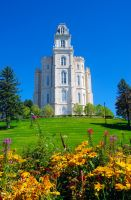 LDS Manti Temple 2 by creativelycharged