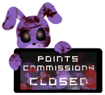 Bonnie Point Commission Closed Stamp by Ink-cartoon