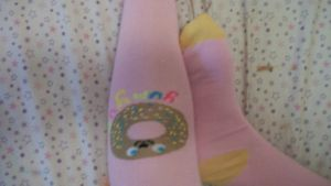 sweet treat feet donuts3 closeup by sexyballoffluff