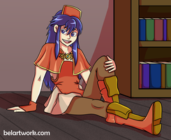 Lilina Ostia by Bekbelle