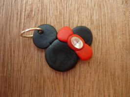 Minne Mouse Charm by PhantomxFan