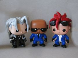 FF7 Vinyl Pops by MLPEndlessNight