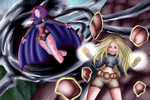Raven vs Terra by Saphinel