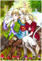 APH: Fairy's circle by momofukuu