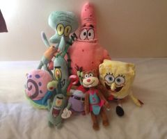 Spongbob Squarepaint Complete Teddy by extraphotos