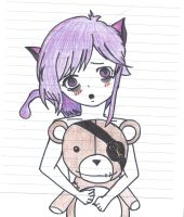 Kawaii Little Psycho - Colored by RavenSnipper