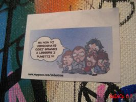 A6 Stickers - In Shop by blossomoftea