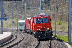 Railway Firefighter Olten by SwissTrain