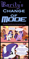 Rarity and Fluttershy's Change of Mode by TheSarcasticBrony