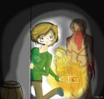 It's Okay Stephano, I Think The Bro Is Upstairs by crown-rachel
