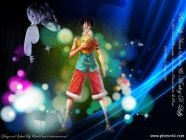 Anna Sweets and Monkey Luffy 2 by cam6