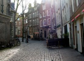 Place 324 - paved street in red light district by Momotte2stocks