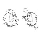 Sonic and Amy in Simon's Cat Style by RJ-the-Lynx