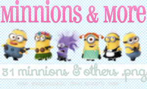 Minnions and more pngs by Swagonbelu