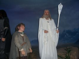 Lord of the Rings wax modles by goldenthebat