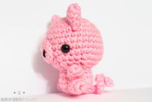 Light Pink Pig 3 by tinyowlknits
