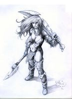 Red Sonja concept by werder