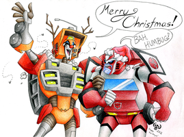 Merry Christmas 2012 by Silent-Mime