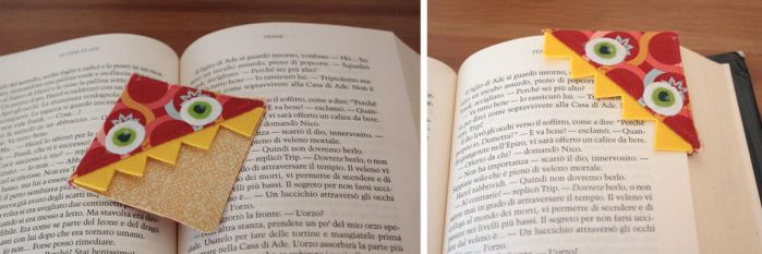 Monster bookmark by camaseiz