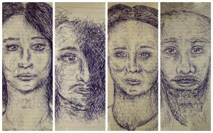 People Sketches by HaanaArt