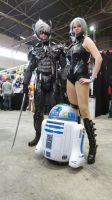 Sweet Raiden and Raiden and R2D2 as baby by LexiStrife