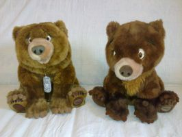 Brother Bear plush by Frieda15