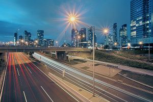 Melbourne on Blue Hour by alexwise