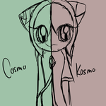Cosmo and Kosmo by xXCosmic-LifeXx