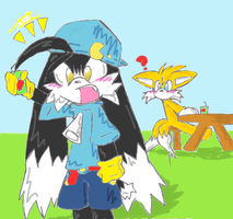 Klonoa wants more juice by x-X-lolzgurl-X-x
