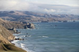 North California Coast by NickBentonArt