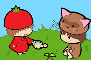 .: Spamano Chibis :. by EpiclyAwesomePrussia