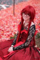 Ballgown Grell Fall Shoot 7 by TheCosplayVlogger