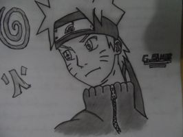 Drawing Naruto January 2014 by gabrielalmir10