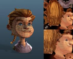 Settlers 7 Rupert Wireframe by polyphobia3d