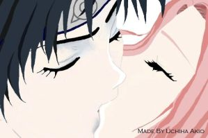 Now and Always - Colour by NaruHina--SasuSaku