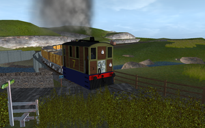 NWR No. 7 leaving from the Quarry by Sergeant-Sunflower
