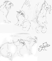 Page of griffins by UltraViolete