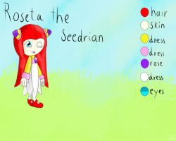 Roseta The Seedrian by Noonui