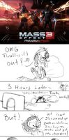 Mass Effect 3 really hates me by SheoCheese