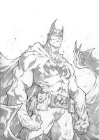 Batman Standing by marvelmania